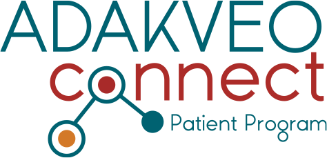 ADAKVEO connect patient program logo