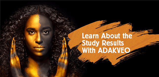 Learn about the study results with ADAKVEO
