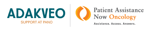 ADAKVEO Patient Support logo